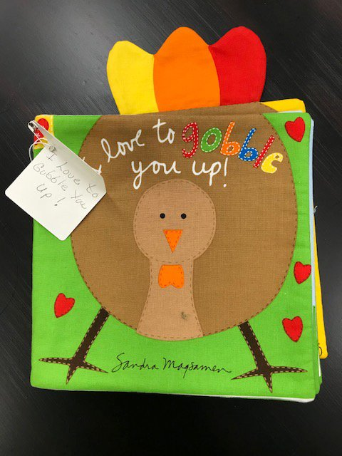 I Love to Gobble You Up! Panel Book