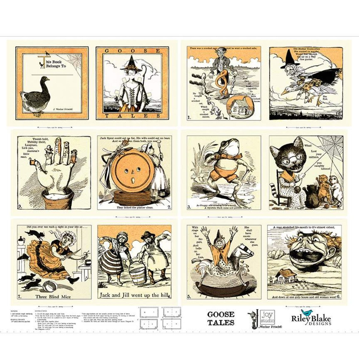 Goose Tales Panel Book
