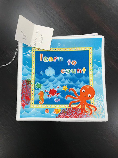 Learn to Count Panel Book