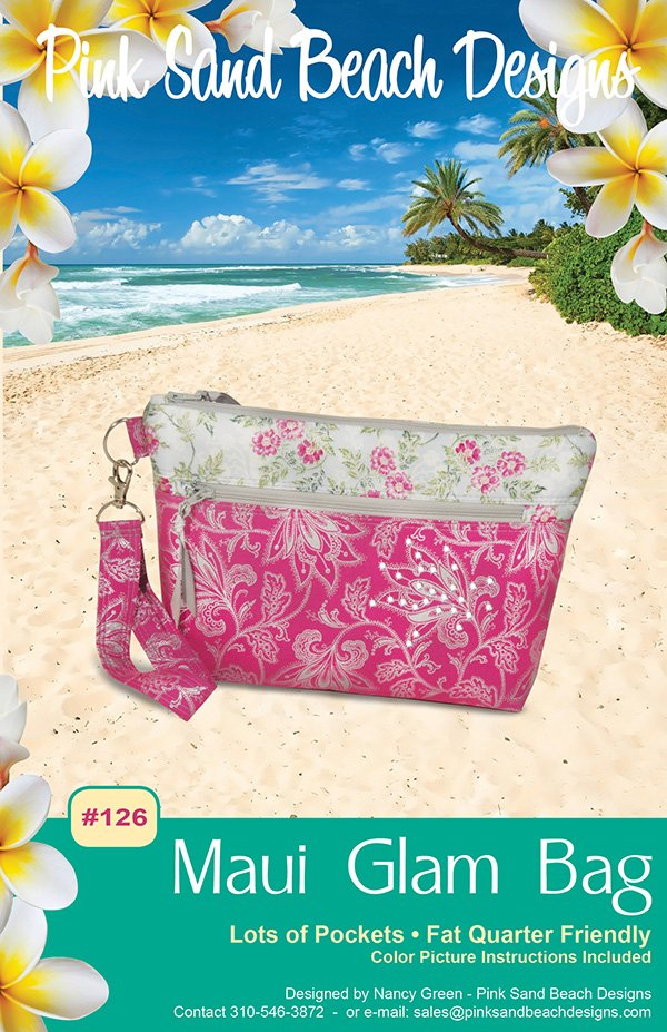 Maui Glam Bag from Pink Sand Beach Designs