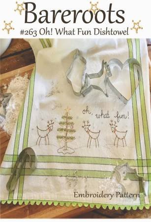 Oh What Fun Tea Towel Kit