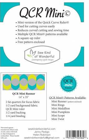 QCR Mini Ruler
