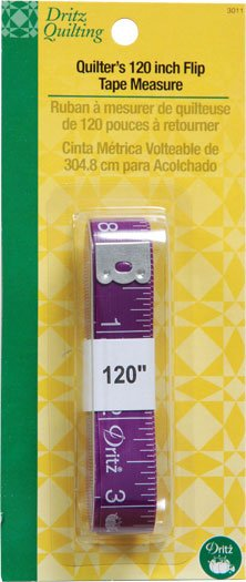 Quilter's 120 Inch Flip Tape Measure