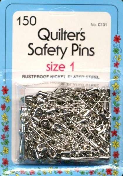 Quilter's Safety Pins