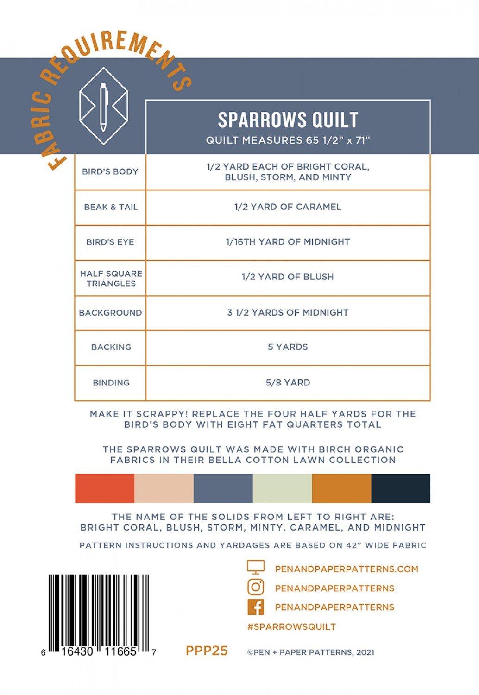 Sparrows Pattern