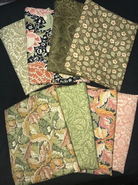 Fat Quarter Assortment from William Morris