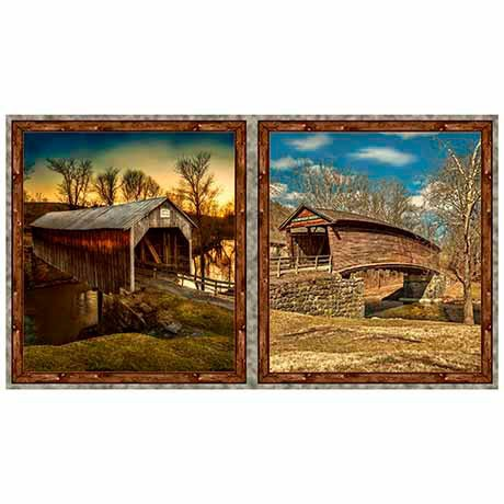 Covered Bridges Digital Panel (21x 44)