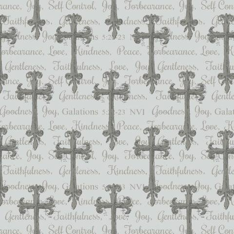 Walk by Faith ~Grey Crosses all over