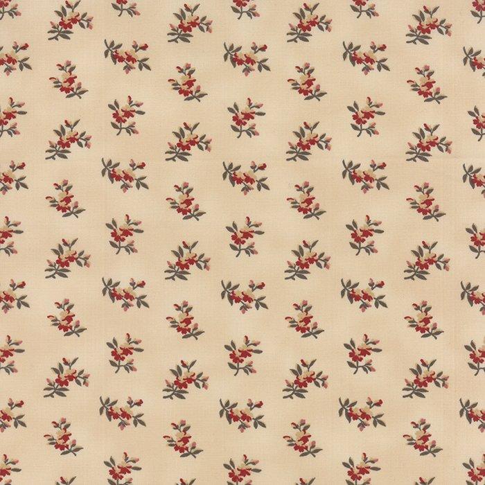 Richmond Reds Shirting Cream large flower