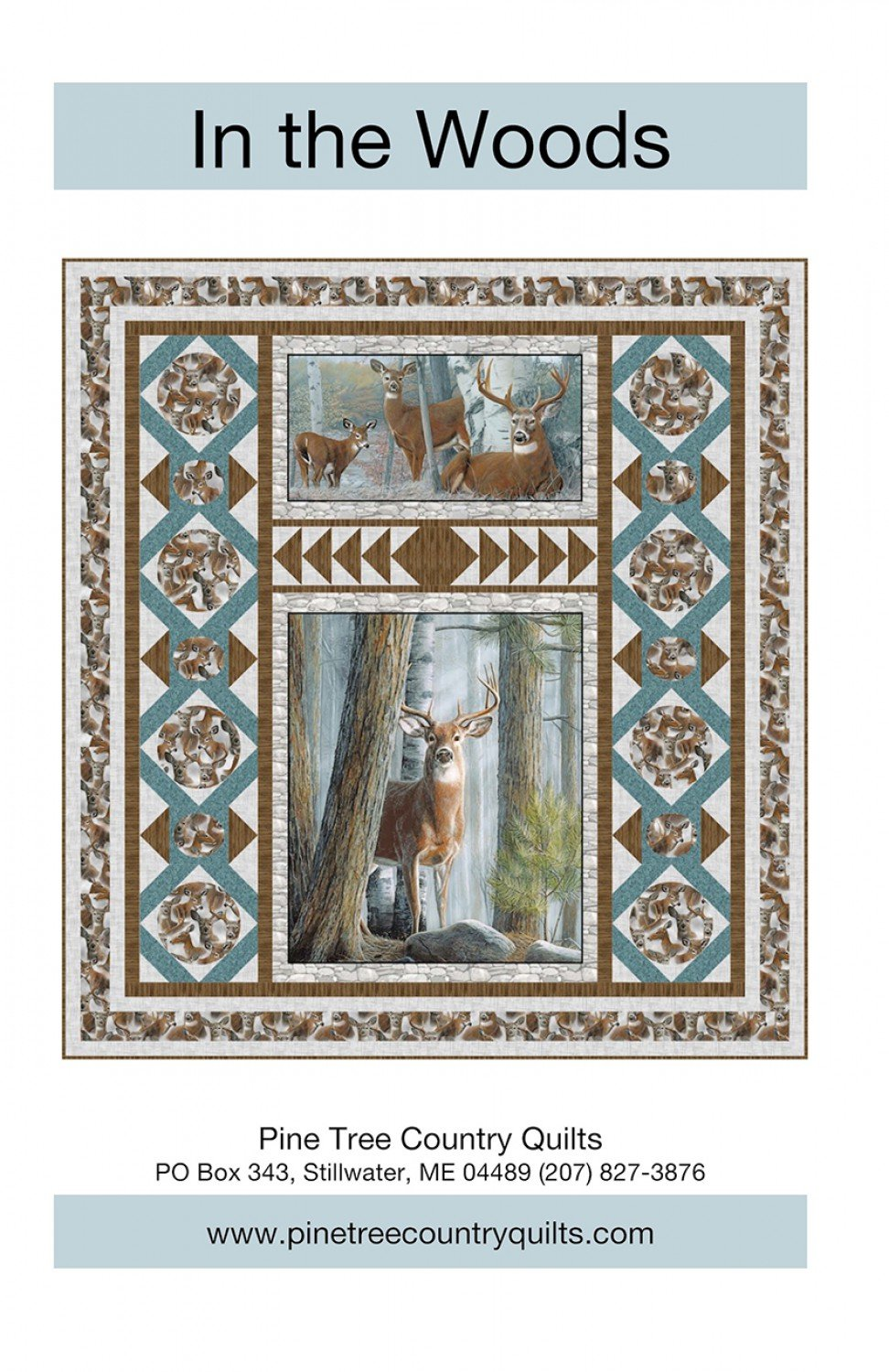 In the Woods quilt kit