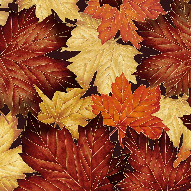 Autumn Leaves w/Metallic