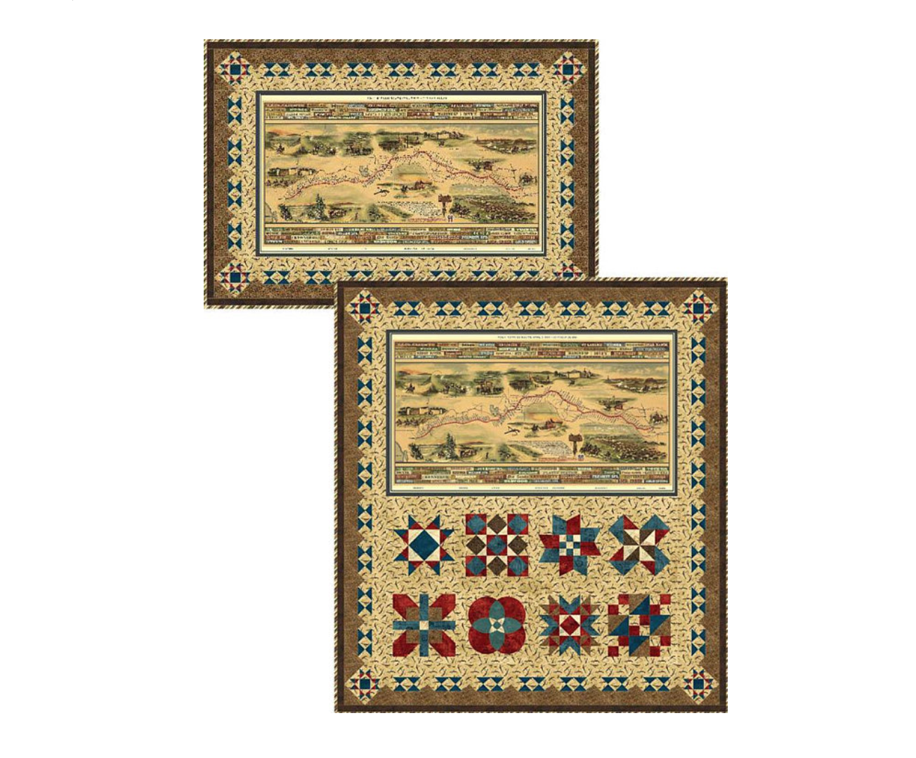 Western Journeys/Pony Express Wall Hanging