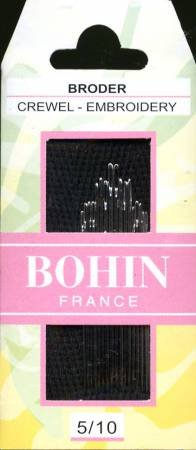 Bohin Embroidery Size 3/9