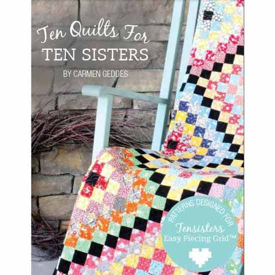Ten Quilts For Tensisters Book
