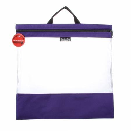 See Your Stuff Bag 16in x 16in Purple