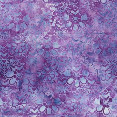 Wallpaper Floral Violet