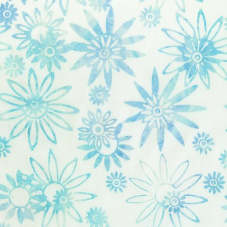 Jacqueline's Illusion Flower Power Aqua