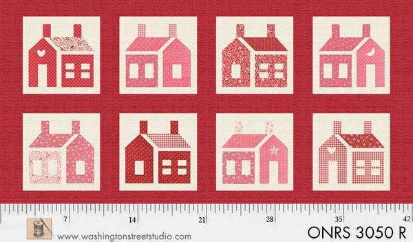 Panel #68 School House Red
