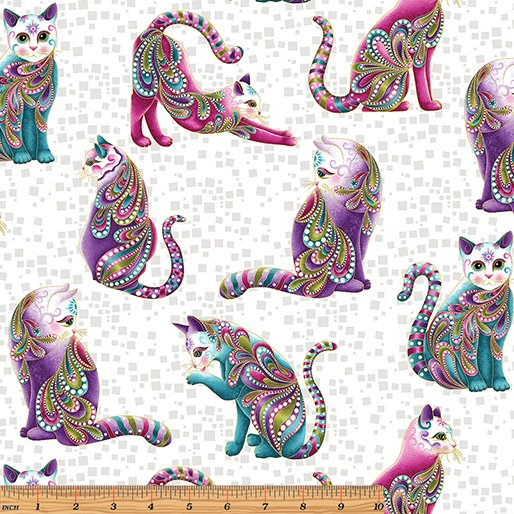 Artist-O-Cats White/Multi