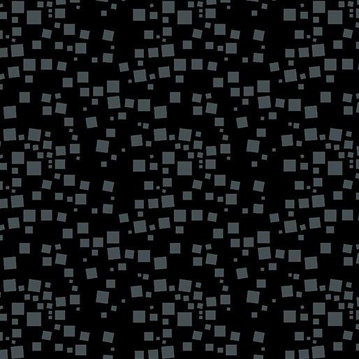 Small Geo Squares Black