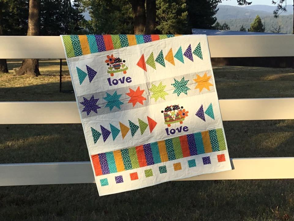 Love Bug Quilt Sample