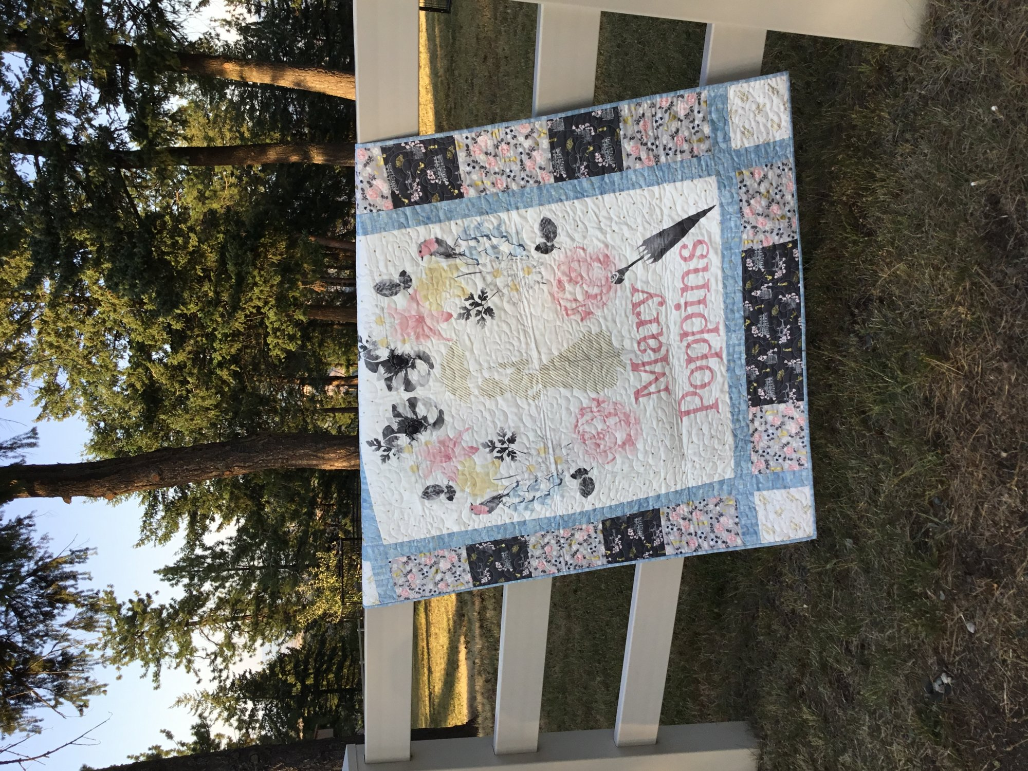 Mary Poppins Quilt Kit
