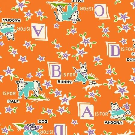 Orange Alphabet