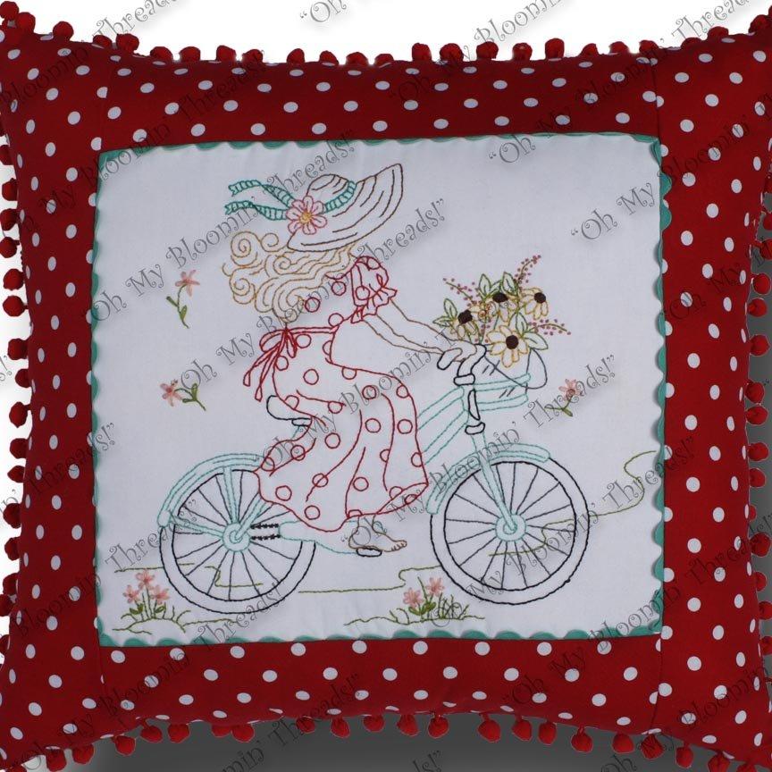 Biking Sunbonnet Sue