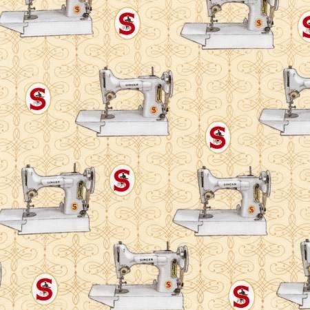 Antique Singer Sewing Machines w/Metallic
