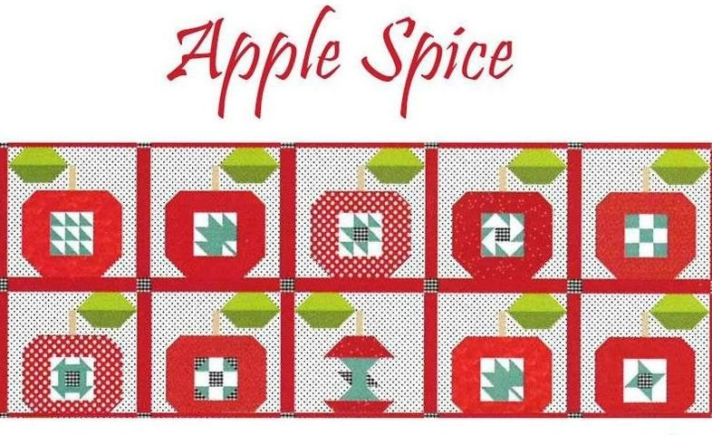 Table Runner of the month August Apple Spice