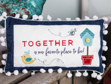 August Rectangle Bench Buddy Kit