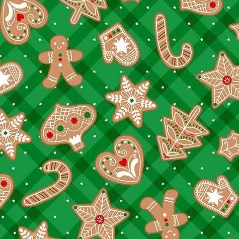 Gingerbread Treats Green