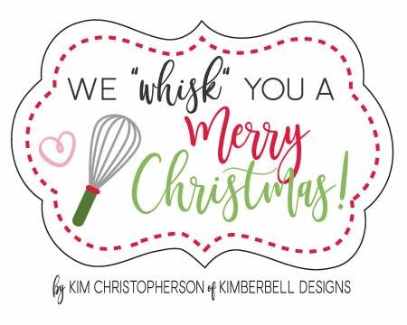 We Whisk You Merry Christmas Charms