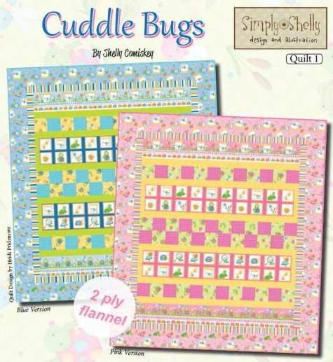 Cuddle Bugs Boys Quilt