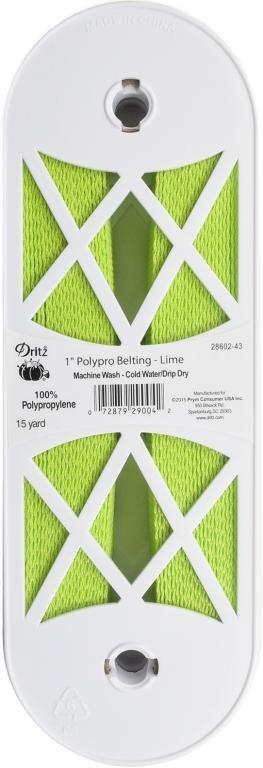 1 Belting--Lime Green