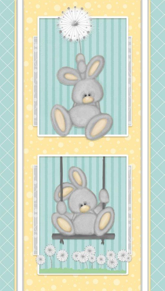 Panel #69 Boy Fluffy Bunny
