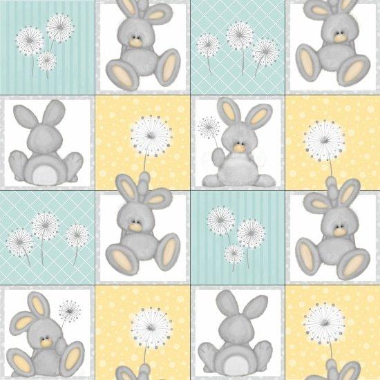 Blue Bunny Squares