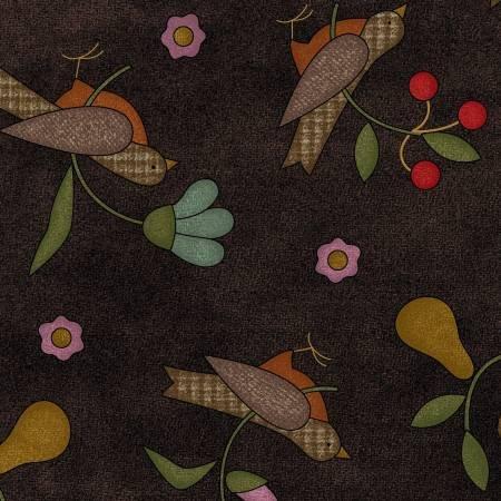Espresso Beans Birds & Flowers