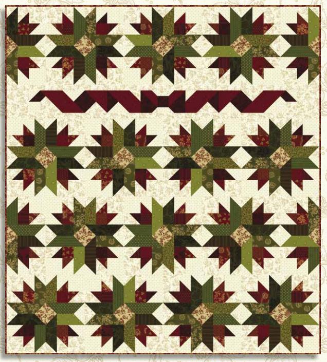 Farmhouse Christmas Patchwork Quilt Kit