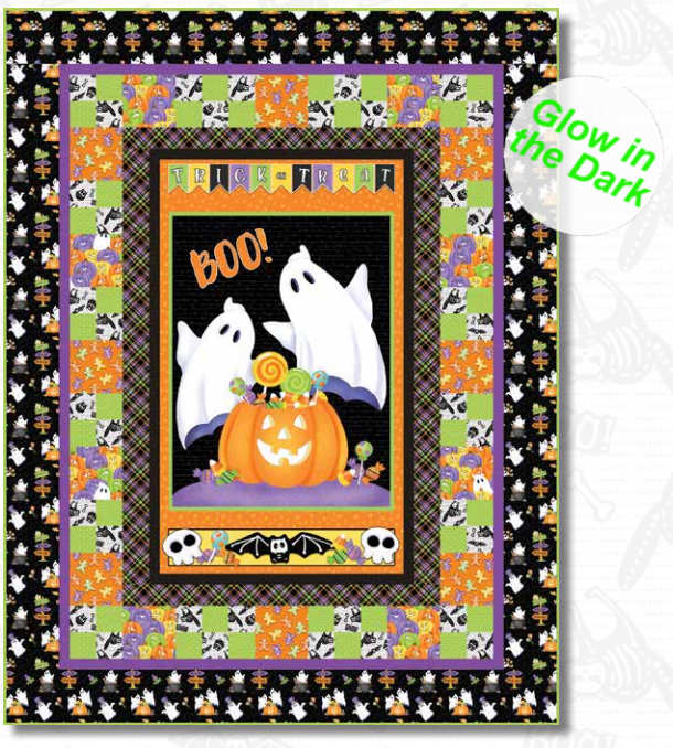 Glowing Ghost Quilt Kit