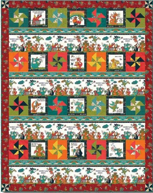 Whirly Gig Magic Quilt #2
