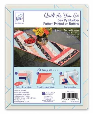 Jakarta Table Runner Fabric Kit