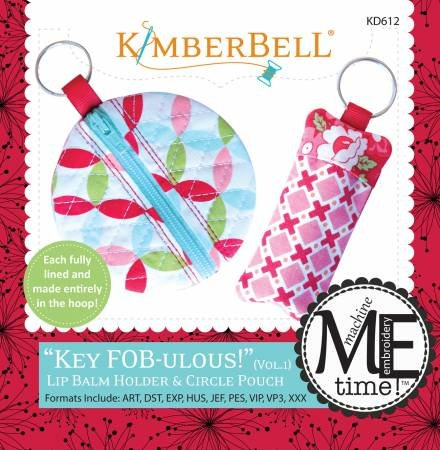 Key Fob-ulous Lip Balm Holder & Circle Pouch