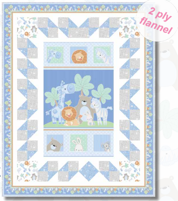 Little Peppers Flannel Quilt Kit