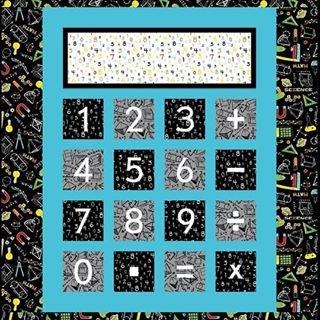 Number Cruncher Quilt Kit