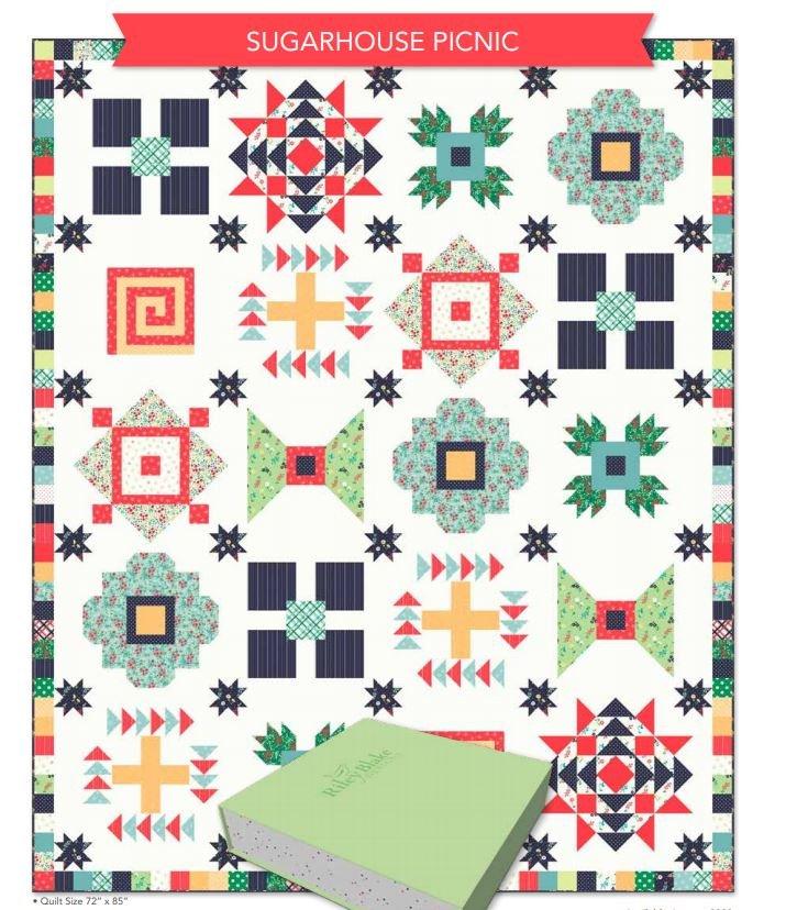 Sugar House Picnic Quilt Kit