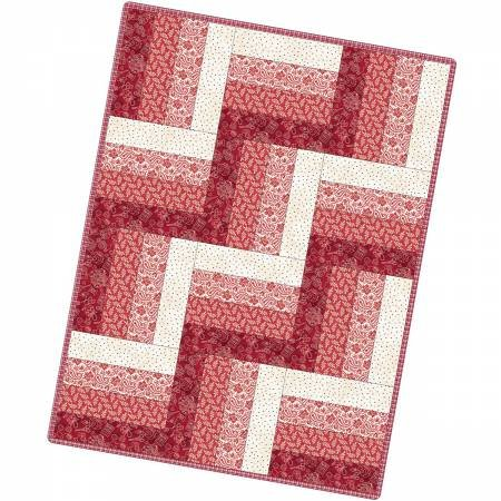 12 Block Rail Fence Quilt The Little Things