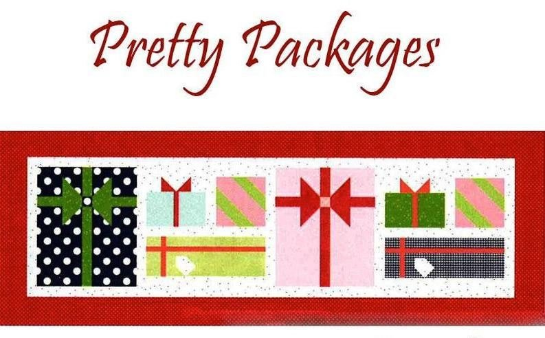 Table Runner of the month November Pretty Packages