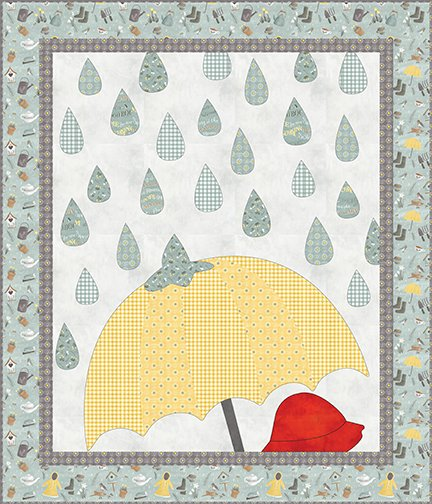 Raindrops Quilt Kit