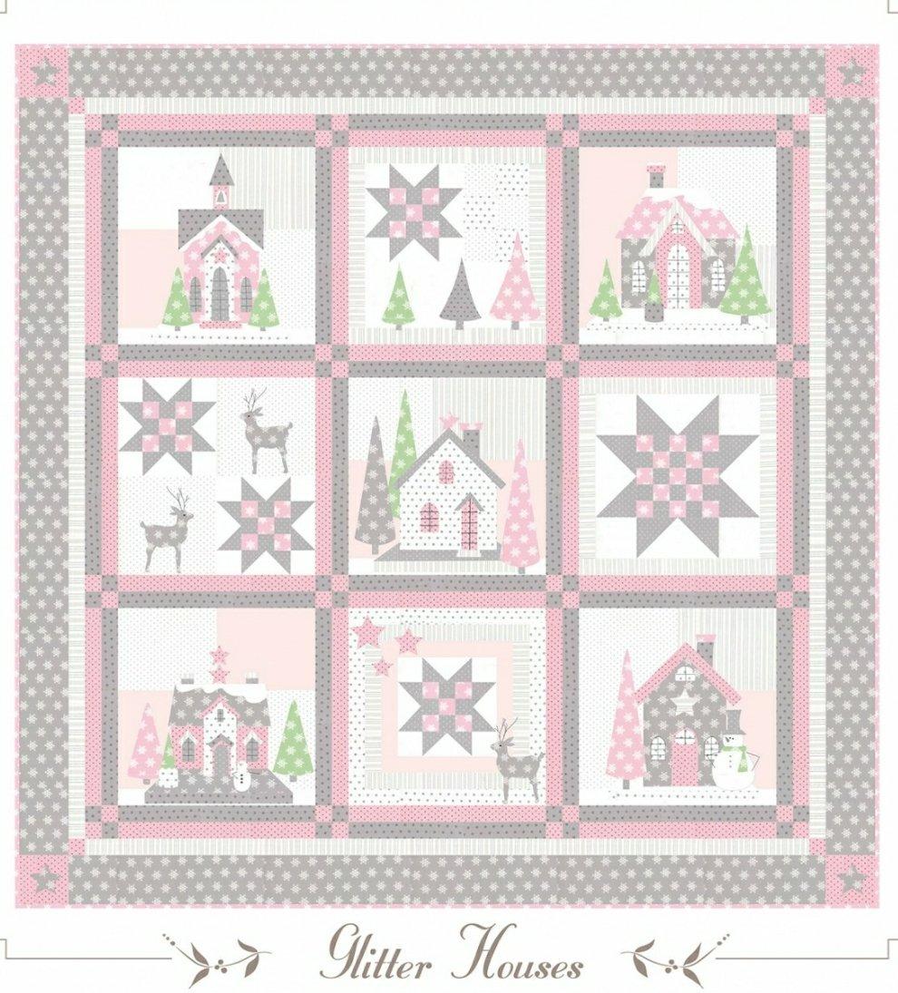 Glitter House Pattern
